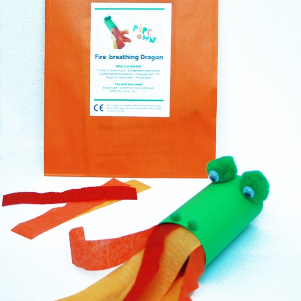 Fire-breathing Dragon Craft Kit