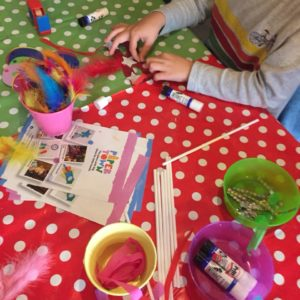 Kids crafts at Craft Club