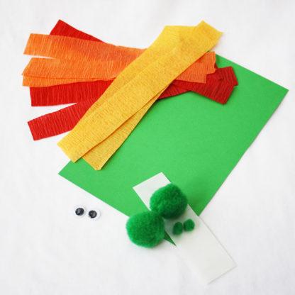 Fire Breathing Dragon Children's Craft Kit