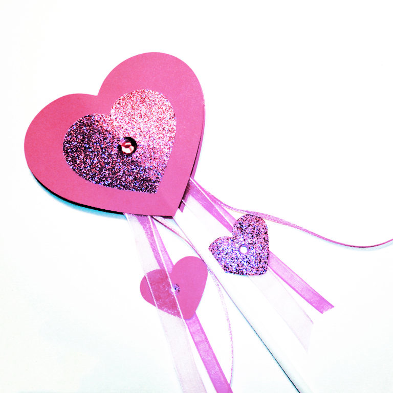 Heart Wand Children's Craft Kit