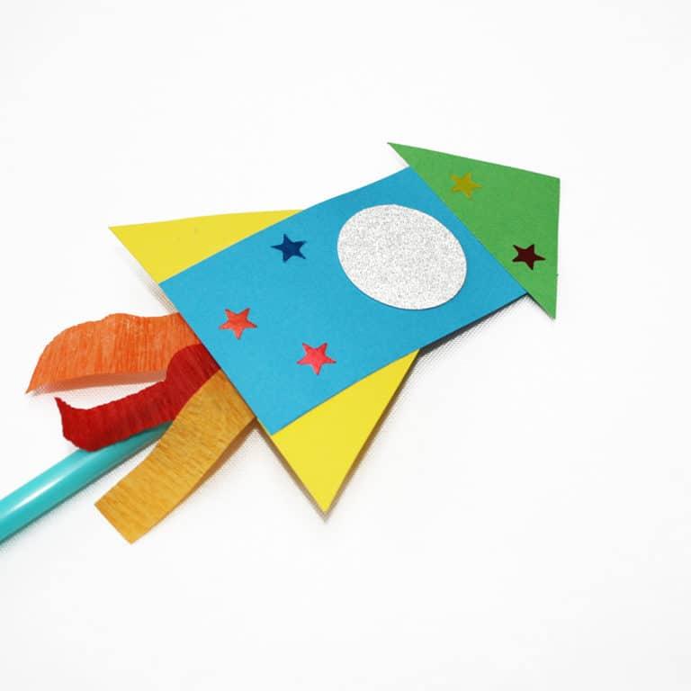 Space Rocket Children's Craft Kit