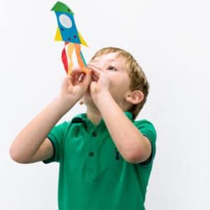 Space Rockets Children's Craft Kit
