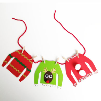 Christmas Jumper Garland
