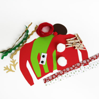 Christmas Jumper Garland Kit